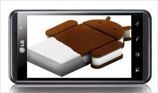 LG ice cream sandwich