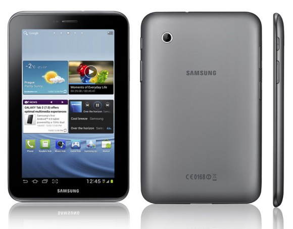 Samsung Galaxy Tab2 7.0 su Android Ice Cream Sandwich