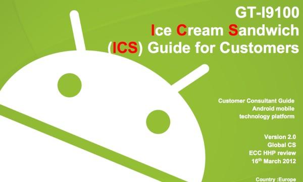 Samsung Galaxy S2 ICS Vartotojo Gidas