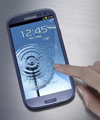 Galaxy S3 priekis
