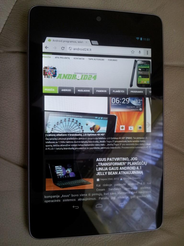 Nexus 7 apzvalga android24.lt