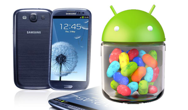 Samsung Galaxy S3 Sndroid Jelly Bean