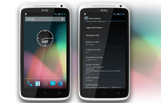 HTC One X Jelly Bean