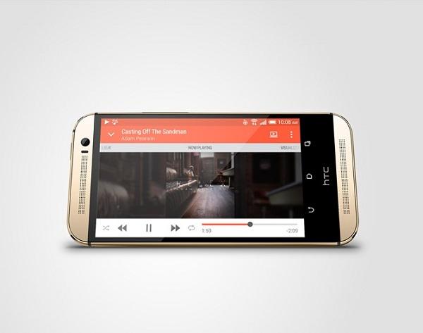 HTC One M8 priekis