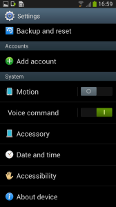 2Galaxy S3 Android 4.2.1