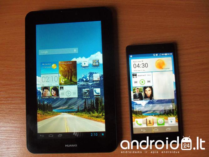 Huawei MediaPad 7 Vogue ir Huawei P6