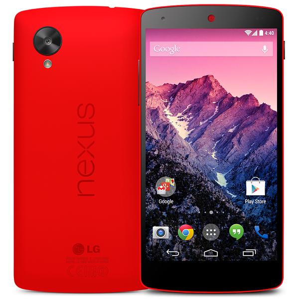 Nexus 5 raudonas